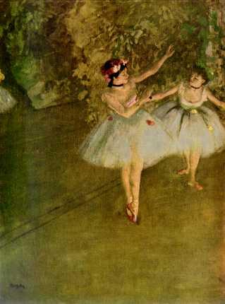 """Deux danseuses sur scène"""""""